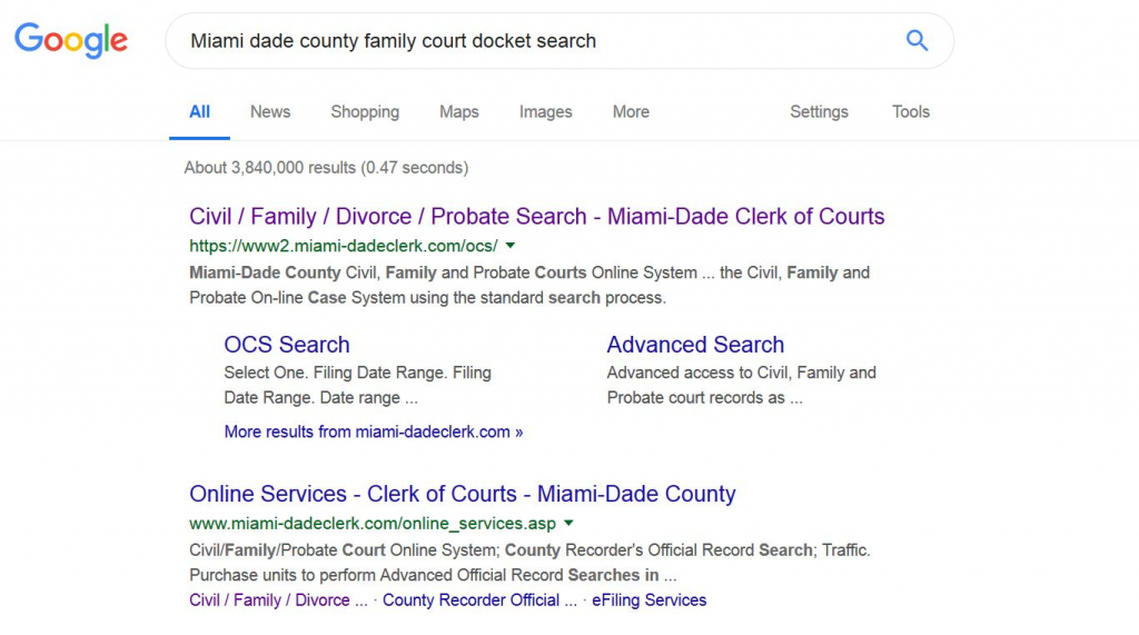 Family Court Docket Search - Criminal Data Check - Find Criminal