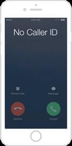 Reverse Phone lookup no caller id