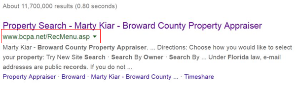 How to find property tax records