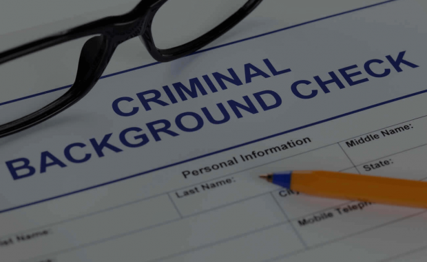 What information is on a background check