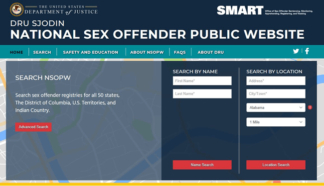 Are there sex offenders living near me