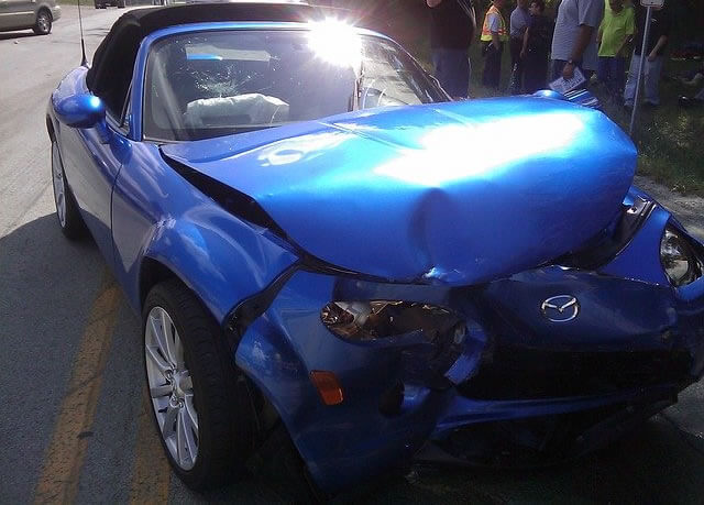 Leaving the scene of car accident